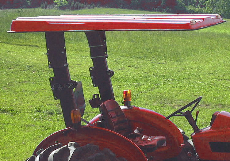 Carver Tell Trac Tractor Canopy Carver Equipment In