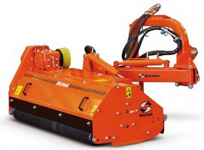 Sicma Ditch Bank Mowers | Carver Equipment - Diagram